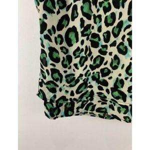 CAbi Tops - Cabi Jungle Cheetah Envy Cropped Top Animal Print